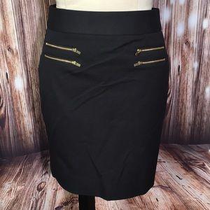 Banana Republic Black Short Skirt 4P